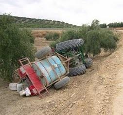 Evitar el vuelco con tractores