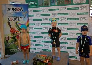APROA apoya a las jóvenes promesas de la natación