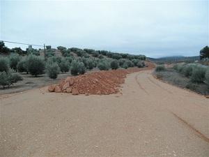 Primeras movilizaciones convocadas por Asaja-Granadade los afectados por las obras inacabadas de la A-323