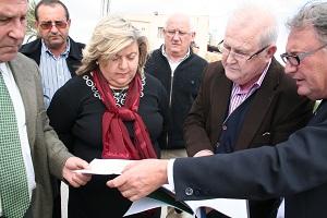 Aguilera destaca la apuesta por la modernización de las comunidades de regantes para obtener mejores rendimientos