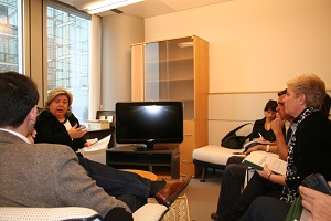 Aguilera traslada al Parlamento Europeo propuestas para que la reforma de PAC yPPC atiendan las necesidades de Andalucía