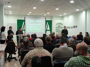 Sequía, heladas, bajos precios y las repercusiones de los acuerdos con países terceros, principales preocupaciones de la junta directiva de Asaja-Almería