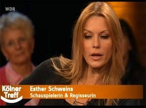 La actriz Esther Schweins elogia en la TV alemana la calidad y seguridad de los productos hortofrutícolas españoles
