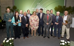 Aguilera destaca la capacidad innovadora y productiva de los galardonados en los Premios de Agricultura y Pesca 2011