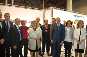 Grupo Agroponiente ha inaugurado esta mañana su presencia en Expo Agro, con un stand en el que celebra su 25 Aniversario