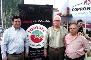 El Consejo regulador de la I.G.P. Tomate La Cañada Níjar no falta a la cita de ExpoLevante 2012