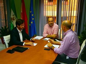 El alcalde de El Ejido se reúne con el delegado de Agricultura y Medio Ambiente para tratar asuntos prioritarios al inicio de la campaña