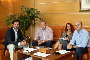 Hortyfruta y el Ayuntamiento de El Ejido avanzan en temas estratégicos para el sector agrario