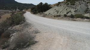 La Junta de Andalucía avanza en las obras de mejora de dos caminos rurales de Vélez-Blanco