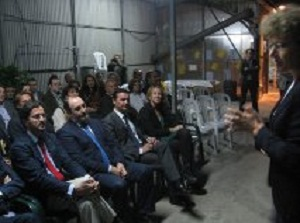 José Manuel Ortiz valora la iniciativa 'Almería, el arte de humanizar las plantas', por contribuir a difundir la horticultura de la provincia