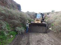 La Concejalía de Agricultura arregla 15 tramos de caminos rurales afectados por las lluvias del pasado fin de semana