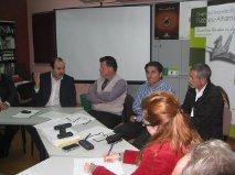 Miguel Martínez asume la presidencia del Grupo de Desarrollo Rural Filabres-Alhamilla, en sustitución de Rogelio Hidalgo