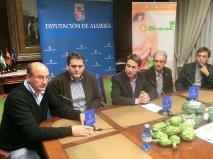 Diputación presenta las II Jornadas del Brócoli y la Alcachofa de Antas