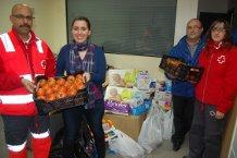 Vegacañada colabora con la campaña de recogida de alimentos de Cruz Roja, en unos momentos en los que la solidaridad es necesaria