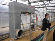 Gersia propone un nuevo sistema de calefacción e inyección de CO2 para el invernadero