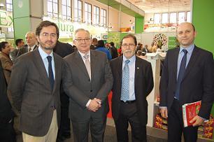 El Ejido participa en Fruit Logistica 2013 con la firme apuesta de  vender nuestra agricultura bajo la marca única España