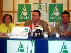 Asaja celebra el lunes una jornada sobre la reforma de la OCM de frutas y hortalizas
