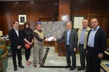Diputación entrega el proyecto que dará agua a los regantes de Alboloduy, Alsodux y Sta. Cruz