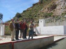 La Junta repara el aforador de Darrícal, que mide el agua que aporta el río Grande al embalse de Benínar