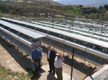 José Manuel Ortiz visita en Lúcar una de las granjas más grandes de Andalucía para reproducción y cría de perdiz roja