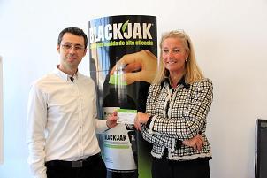 Blackjak regala un Kia Sportage a un agricultor de Níjar