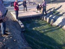 Los niveles de agua de la balsa del Sapo descienden 1,30  metros desde el inicio de la segunda impulsión, en febrero