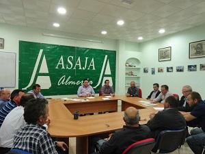 ASAJA explicará a los representantes políticos almerienses la situación fiscal de la agricultura