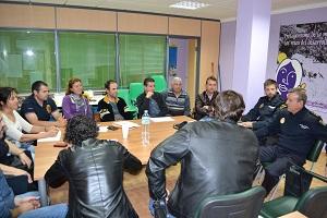 La Policía Nacional informa a Coag Almería sobre las medidas adoptadas para velar por la seguridad en el campo