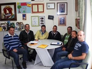 El Comité de COAG El Ejido-Dalías se reúne con el Ayuntamiento daliense para tratar asuntos del sector agrícola