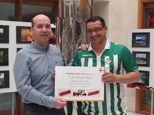 """José Manuel Estévez, Responsable de I+D de La Palma ganador del Juego """"los Cracks de los Cherry""""."""