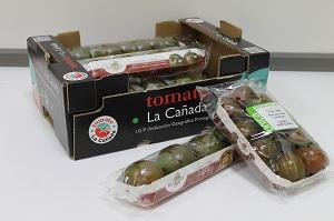 Los tomates de la IGP La Cañada viajan hasta Reino Unido para dar a conocer su calidad y sabor en el mercado inglés