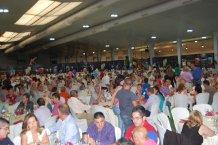 Una gran fiesta de final de campaña, con unas 1.000 personas, sirve para celebrar el décimo aniversario de Vegacañada