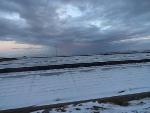 Importantes daños en los invernaderos de El Ejido debido al granizo