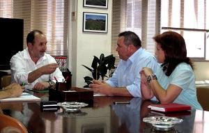 Asaja-Almería traslada al delegado de Agricultura su inquietud por las pérdidas ocasionadas por la sequía
