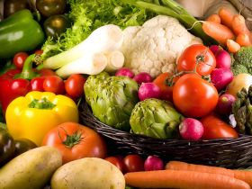 Campaña sobre frutas y verduras para el último cuatrimestre del año