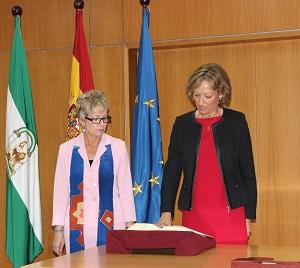 Carmen Ortiz toma posesión como presidenta del Instituto de Investigación y Formación Agraria y Pesquera