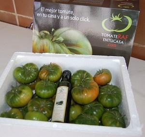Agroponiente comienza la temporada de venta de su tomate raf on line