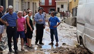 """Crespo pide a Ortiz que las ayudas a los agricultores afectados por las inundaciones en Adra y El Ejido """"lleguen cuanto antes"""""""