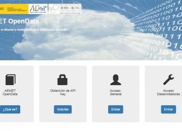 AEMET pone a libre disposición su información meteorológica y climatológica