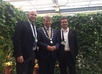 El Ejido toma parte en La Haya de un debate europeo sobre sostenibilidad y agricultura