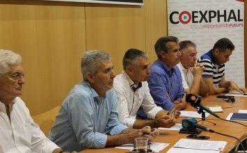 Las cooperativas hacen 'piña' en Coexphal y exigen a CGUAL agua en cantidad y de calidad
