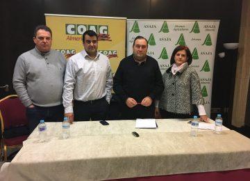 Asaja y Coag piden a Competencia y a la Aica una investigación de las «condiciones anómalas» de campaña hortofrutícola