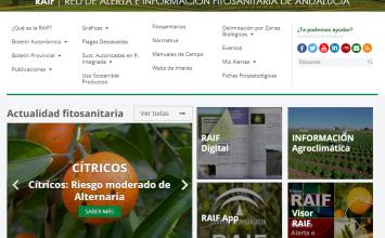 Agricultura actualiza la web de la Red de Alerta e Información Fitosanitaria