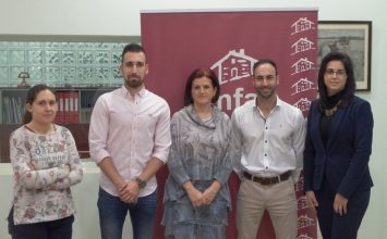 Amfar traslada a los representantes de Nuevas Generaciones Almería las necesidades de los jóvenes del medio rural