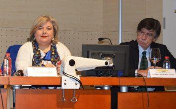 """Clara Aguilera: """"Es fundamental aunar esfuerzos para impulsar soluciones innovadoras y sostenibles en agricultura"""""""