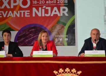 La doble vía hasta el Puerto Seco de Níjar principal reivindicación del campo en Expolevante 2018