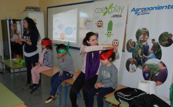 Escolares ejidenses participan del programa 'Coexplay' de la mano de Grupo Agroponiente