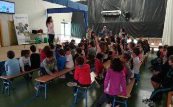 Grupo Agroponiente participa en la acción formativa 'Coexplay', de Coexphal, visitando el CEIP Mar Mediterráneo de Almería