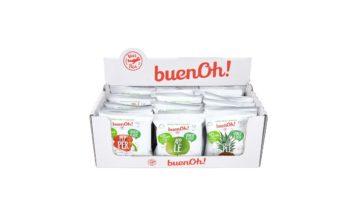 Unica lanza sus snacks deshidratados BuenOh! en Amazon España, Reino Unido y Alemania
