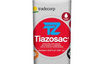 Nueva autorización para el acaricida polivalente Tiazosac®